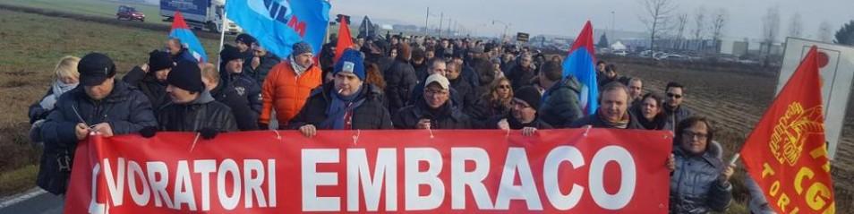 Embraco – Fantozzi (Prc): «Vicenda scandalosa. Il governo trovi una soluzione e blocchi le chiusure e le delocalizzazioni speculative».