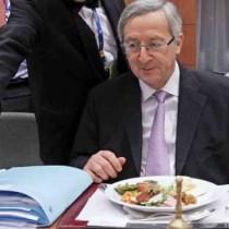 Juncker tifa per governo larghe intese Pd-Berlusconi. Diamogli un dispiacere, Potere al popolo!