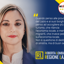 """Lazio, Lombardi: """"meno migranti, più turisti"""". Copiano dalle destre, e pure male!"""