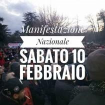 Rifondazione e Potere al popolo alla manifestazione a Macerata