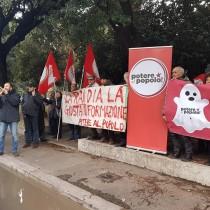 Rai, Potere al popolo oggi in viale Mazzini (e davanti a tutte le sedi regionali) contro l'oscuramento mediatico