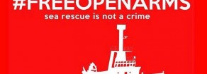 Open arms, Prc: «Soccorritori non sono delinquenti!»
