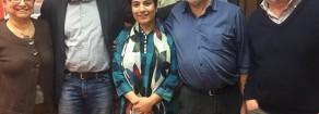 Rifondazione Comunista ha incontrato Malalai Joya, esempio di lotta per la pace nell'Afghanistan occupato