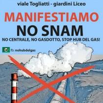 No Snam: sabato 21 manifestazione a Sulmona
