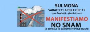 """Ambiente – Acerbo (Prc-Se): """"Domani a Sulmona per manifestazione No Snam"""""""