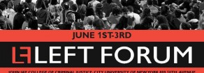 Il Left Forum di New York