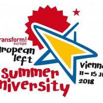 L'Università Estiva della Sinistra Europea, a Vienna, da domani, 11 luglio