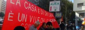 Villa Gordiani, diritto all'abitare, PRC: La resistenza non si arresta!