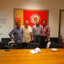 Incontro con JVP (Sri Lanka)