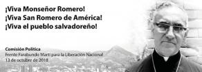 Viva San Romero, viva il popolo del Salvador