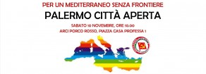 Per un Mediterraneo senza frontiere.  Palermo città aperta.