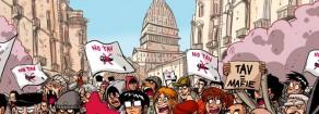 No Tav: in piazza, come sempre, contro un'opera sempre più inutile e dannosa