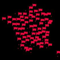Sciopero generale in Francia: gilet gialli con le bandiere rosse della CGT