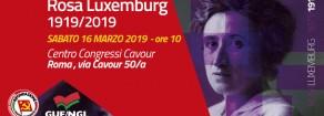 Convegno su Rosa Luxemburg, sabato 16 marzo alle 10