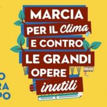 Sabato 23 marzo a Roma Marcia per il clima e contro le grandi opere inutili