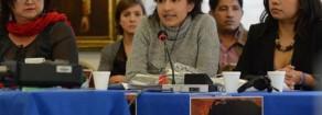 Berta Cáceres: Honduras è un paese che è stato portato sull'orlo del precipizio, devastato totalmente dalle politiche neoliberali