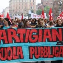 Rifondazione Comunista sostiene lo sciopero della scuola del 17 maggio
