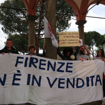 Firenze, con Antonella Bundu, contro la gentrificazione a Firenze