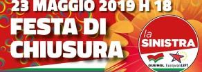 Festa di chiusura della campagna elettorale della Sinistra domani a Milano
