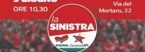 Domenica 9 giugno, 10,30 -16.00. Assemblea nazionale La Sinistra