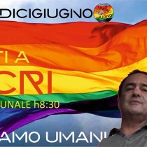 11 giugno, tutte/i in piazza con Mimmo Lucano