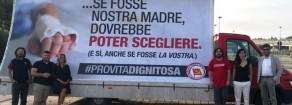 """Rifondazione risponde con 6×3 a campagna contro eutanasia. Parte da San Benedetto campagna """"pro vita dignitosa"""""""