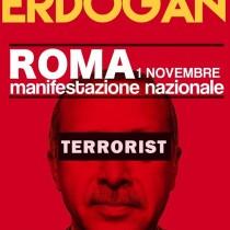Non lasciamo solo il popolo curdo. Tutte/i a Roma il 1 novembre per manifestazione nazionale