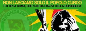 Oggi a Roma in piazza con il popolo curdo