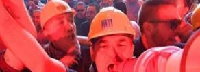 Arcelor Mittal: Rifondazione con i lavoratori in sciopero