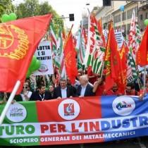 Rifondazione comunista con i lavoratori metalmeccanici in lotta