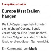 """Dove trovare i soldi? Settimanale tedesco come Rifondazione indica BCE come """"unica alternativa"""""""