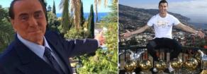 Coronavirus: gli operai in fabbrica, Berlusconi a Nizza e Ronaldo a Madeira