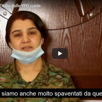 Nisreen Abdullah, portavoce delle YPG curde invia la solidarietà all'Italia