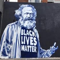 Black Lives Matter: Karl Marx combatté per la libertà
