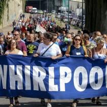 Acerbo-Patta (PRC-SE): no alla chiusura della  Whirpool  di  Napoli, Rifondazione con i lavoratori in sciopero