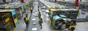 AMAZON: PROFITTI ALLE STELLE PER L'AZIENDA, MA I LAVORATORI LI CERCA CON MANPOWER