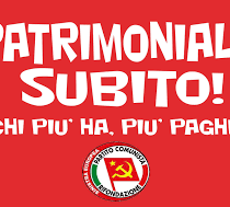 Acerbo, Rifondazione Comunista: indecente canea contro la patrimoniale