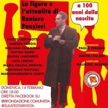 14 febbraio: convegno on line nel centenario di Raniero Panzieri