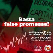 MAZZONI/CASSATELLA – Circolare per Giornata mondiale di azione per il Clima