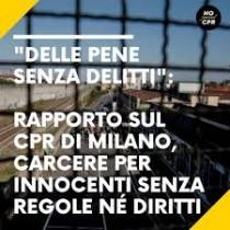 Delle pene senza delitti, Istantanea del CPR di Milano