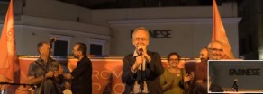 Alberto Benzoni e Paolo Berdini chiusura campagna elettorale