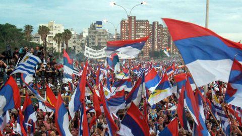 Uruguay, congratulazioni Prc al Frente Amplio