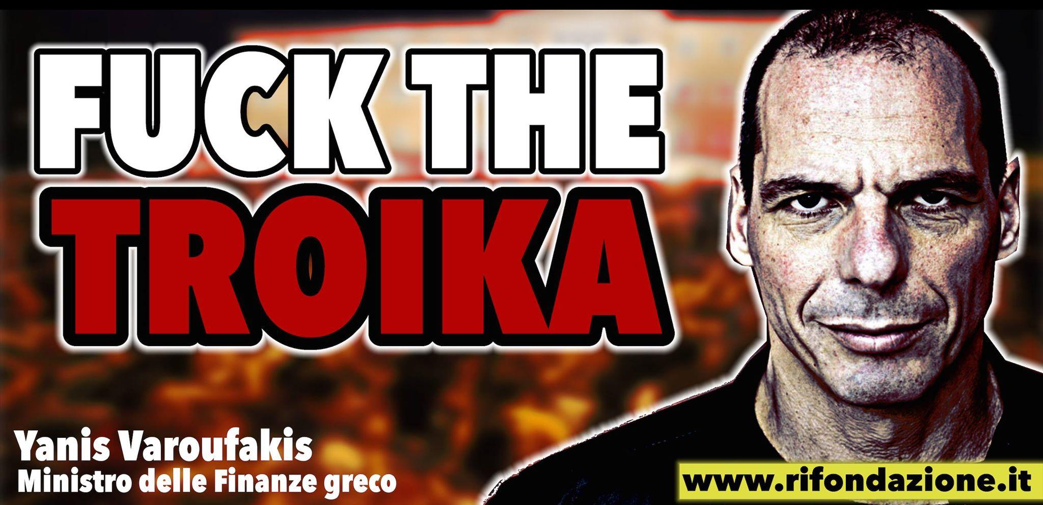 tsipras fuck the troika