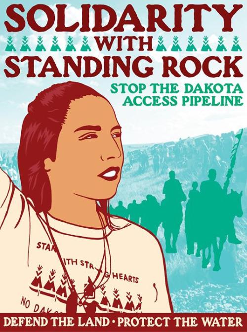 standing rock poster
