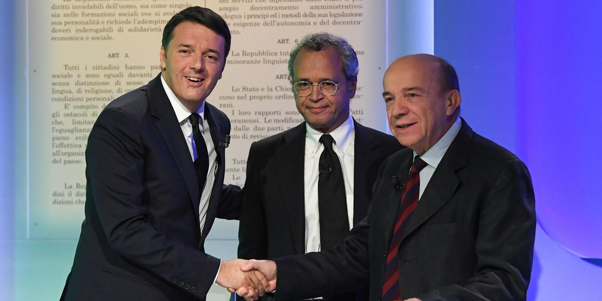 Referendum:Renzi, riforma l'ha voluta Parlamento non solo io