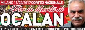11 febbraio a Milano in piazza col popolo curdo contro tutti i fascismi
