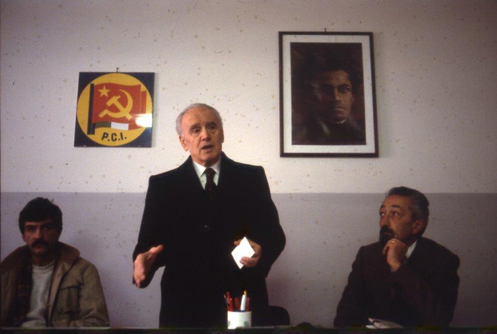 Una foto di Solismo Sacco, 1979 commemorazione 60° milizia politica nel PCI