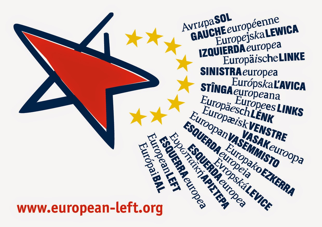 european left logo