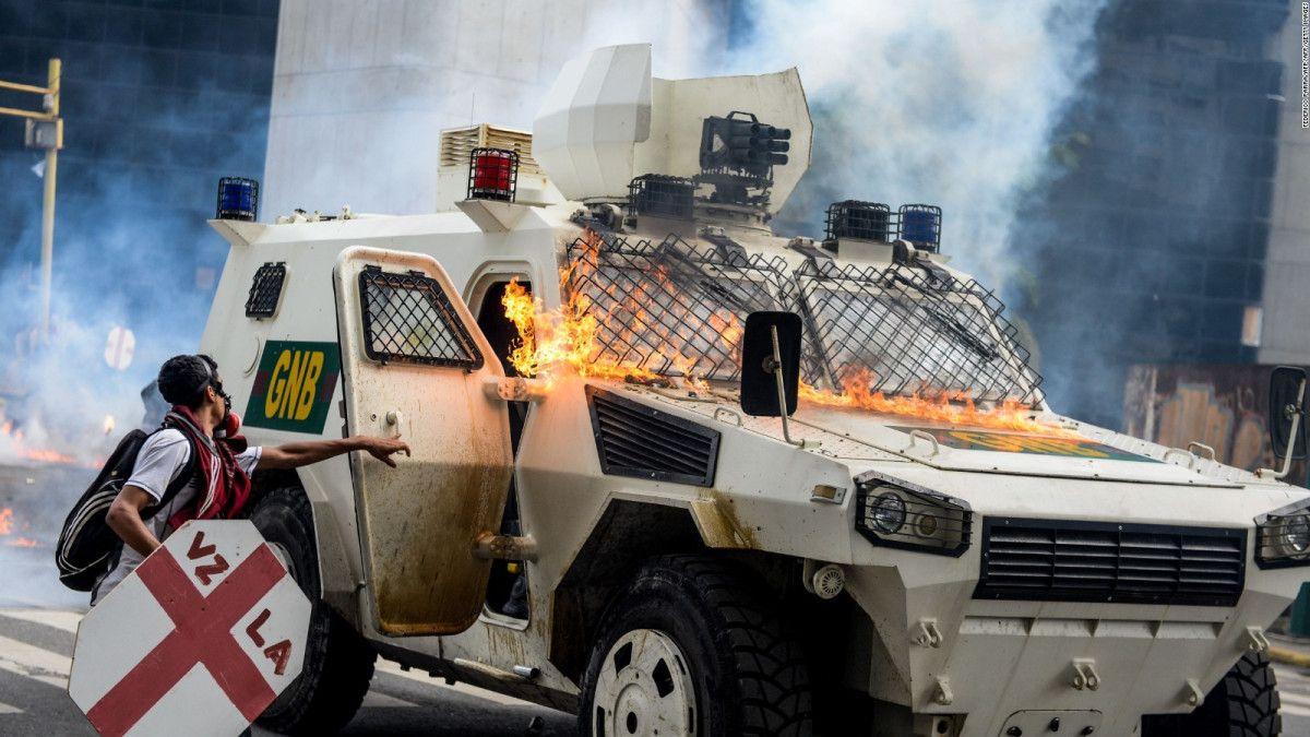 venezuela oposición violenta