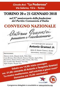Manifesto 70x100 Gramsci con nomi